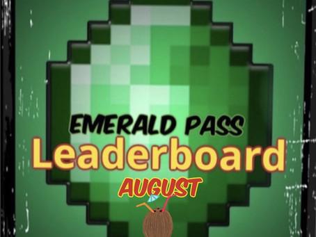 "MMG ""Emerald Pass"" Leaderboard UPDATE"