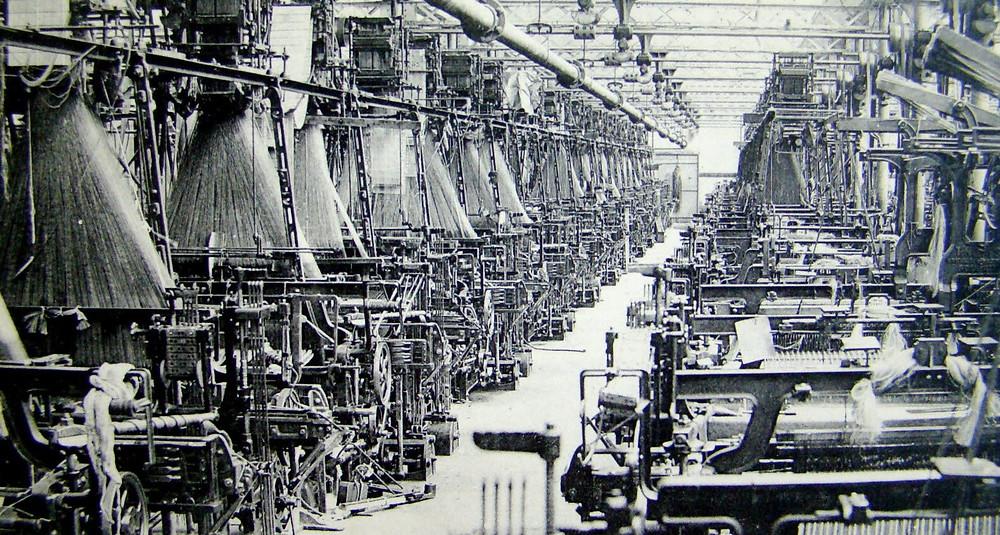 atelier de tissage tissu jacquard