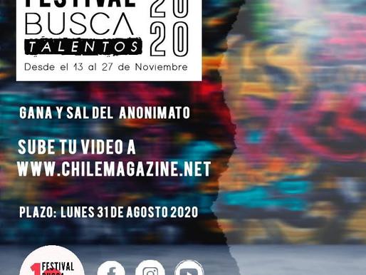 FESTIVAL BUSCA TALENTOS 2020