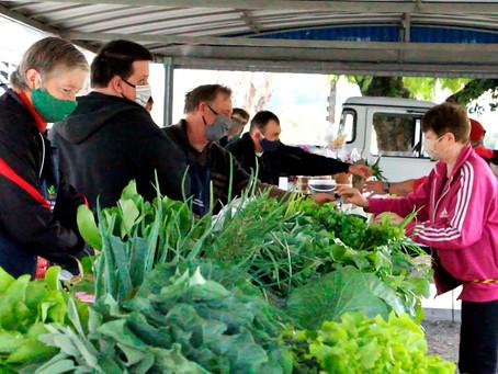 Feira de Produtos Agroecológicos completa 2 anos