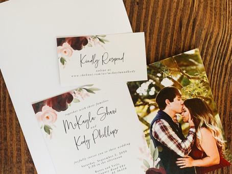 Choosing A Wedding Invitation