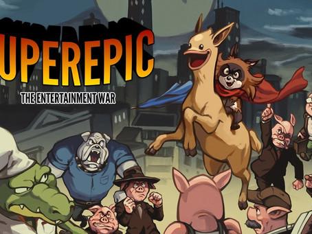 RELEASES | Rette als Waschbär auf einem Lama die Welt –SuperEpic: The Entertainment War