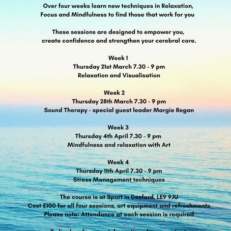 Awareness relaxation course - book now