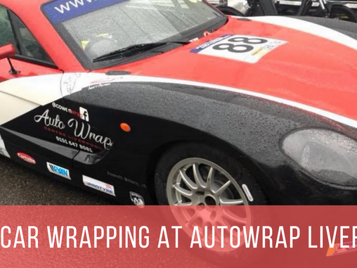 Race Car Wrapping Ginetta G40 Style