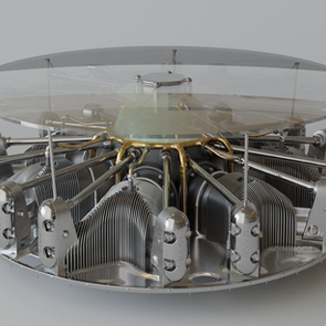 1stdibs Engine Coffee Table