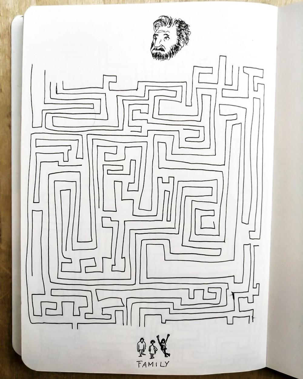 """Zetaesse. Salvatore Garzillo. Diario dalla zona rossa. """"Il consiglio di voltare sempre a sinistra mi rammentò che era questo il procedimento comune per scoprire la radura centrale di certi labirinti"""""""