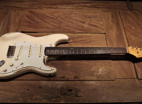 Begagnad 1963 Fender Stratocaster refin, 129999:-