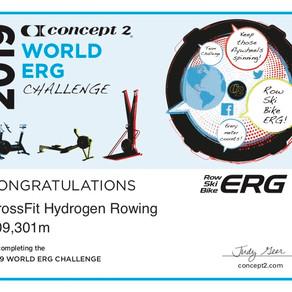 2019 World Erg Challenge Team Results