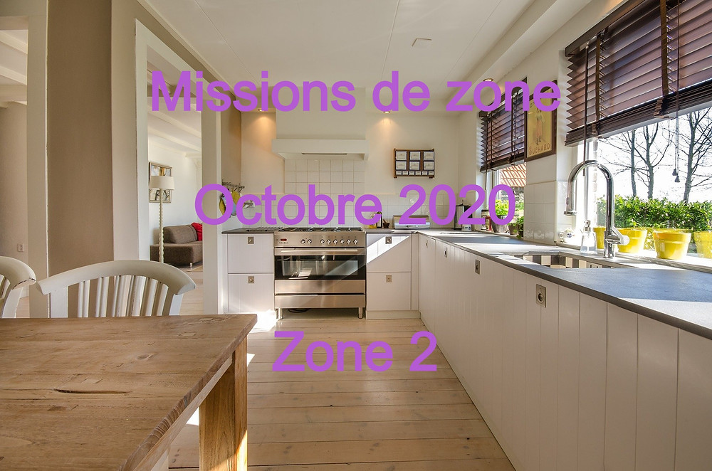 Missions Zone 2 septembre 2020 - semaine 37