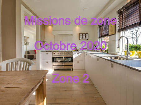 Zones : Missions semaine 41 - Zone 2