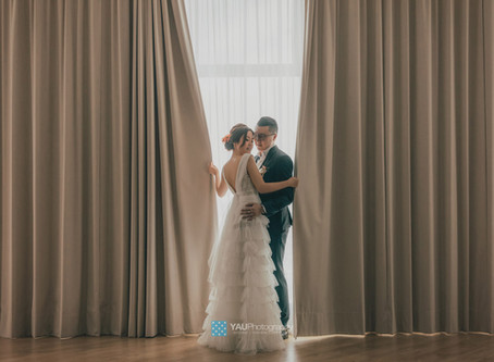 Yany and Terence Studio Pre Wedding