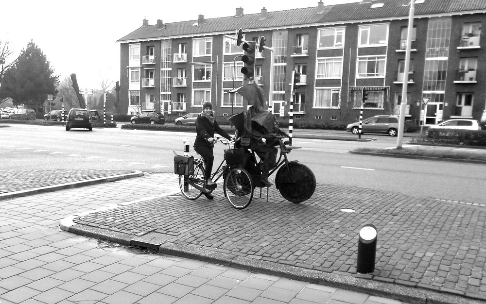 No excuses in holland for cycling around the country
