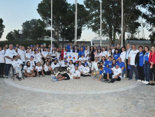 To Κολέγιο Τέρρα Σάντα συνοδοιπόρος στην Πορεία Αγάπης Εθελοντών Πεζοπόρων