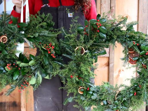 Here a Wreath, There a Wreath, Everywhere a Wreath WREATH!