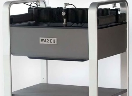 Product Focus:  WAZER Compact Waterjet Cutter