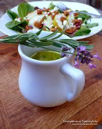 Lavender Salad Dressing & Creamy Vegan Potato Leek Soup Recipe