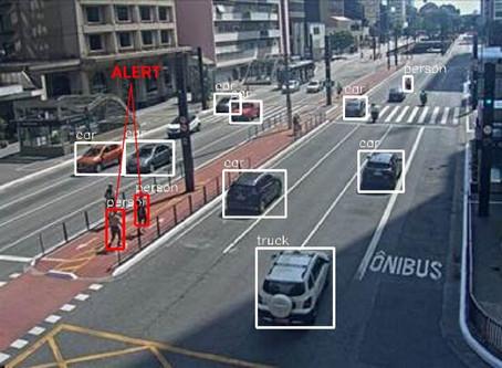 Monitoramento da distância social segura com Visão Computacional