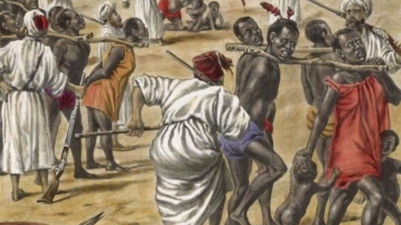 """Tráfico de Escravos - O """"DN"""" publicou uma reportagem com o título: """"Foram os árabes muçulmanos que começaram o tráfico de escravos em grande escala""""."""