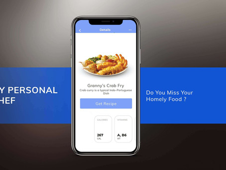 Mobile app ideas to create #1: My Personal Chef