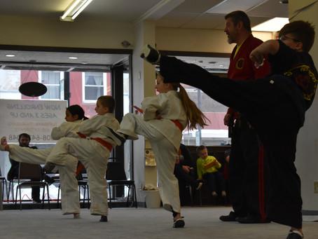 Richland Center - February 2019 Kids Belt Test