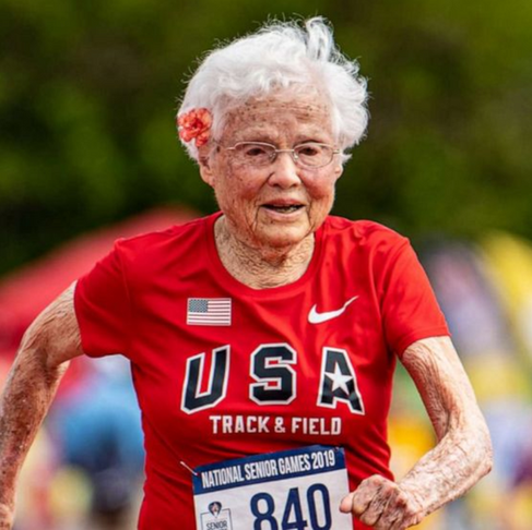 103-Year-Old Nicknamed the 'Hurricane' Wins Gold in 100-Meter Dash
