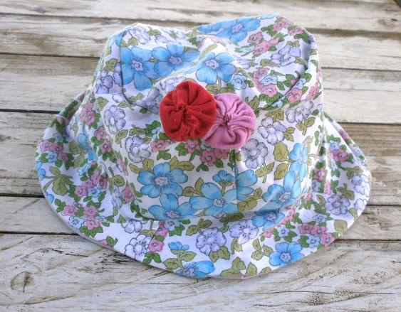Hat adorned with yoyos