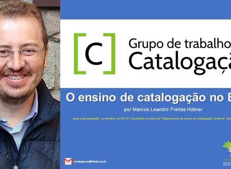 (Webinar) O ensino de catalogação no Brasil