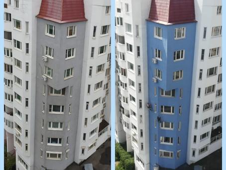Капитальный ремонт фасада и кровли