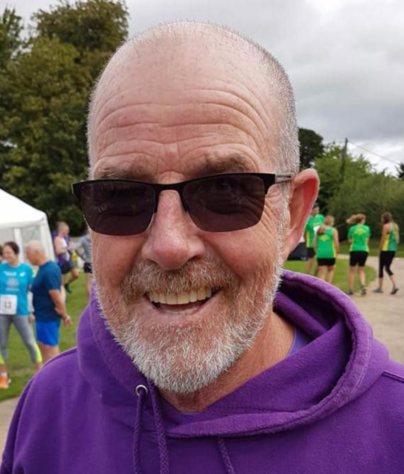 Daventry Road Runners Member Keith Moreman