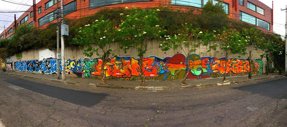 Grafitis Quito Équateur