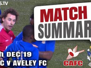 Match summary - Aveley