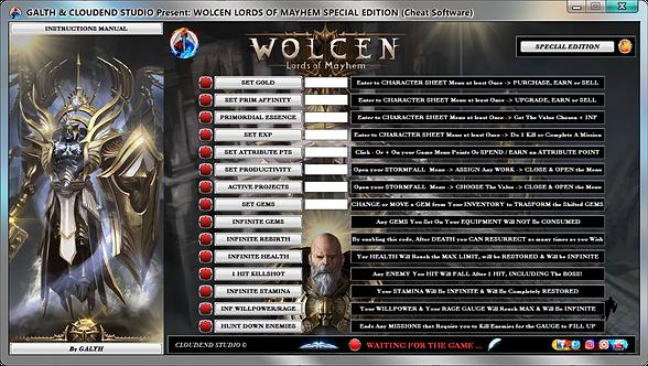 Wolcen Lords Of Mayhem, Wolcen, Wlom, Cheats, Trainer, Mod, Codes, Cheat Happens, Wemod, FRF, Gtrainer, Bloodtrail