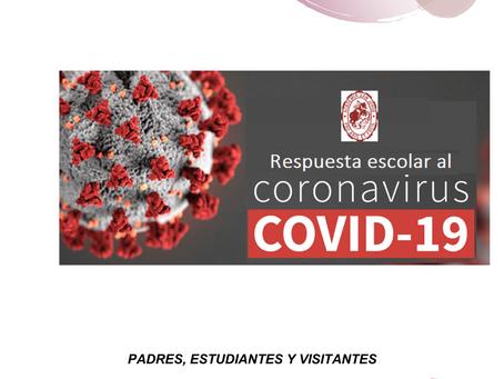 Plan de Control de Exposición a COVID-19 de la Academia San Jorge