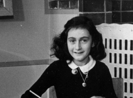 On this day in 1929, Anne Frank was born in Frankfurt