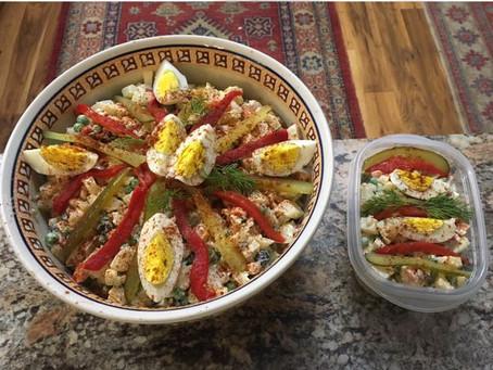 Salatka (Polish Vegetable Salad)