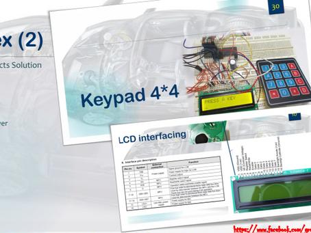 keypad and lcd