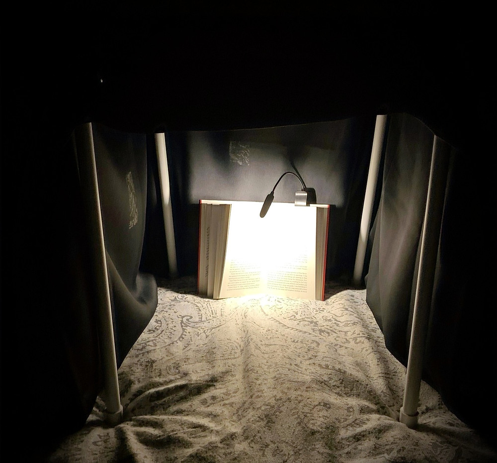 Night Nook allowing you to read at night