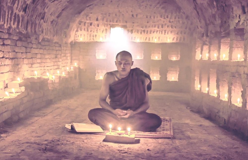 meditation, silence, serenity