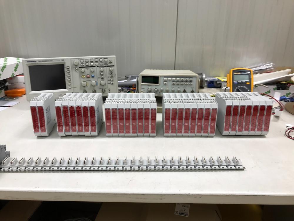 Collaudo e test controllori programmabili espandibili
