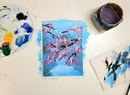How to paint Blossom by Liquid Art!