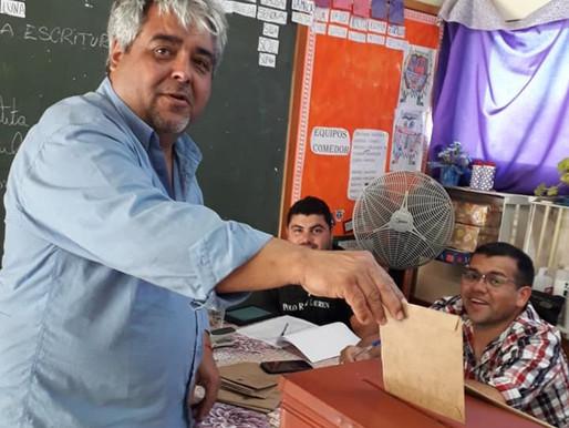 Javier Rodríguez toma posse como segundo alcalde eleito de Aceguá Uruguay