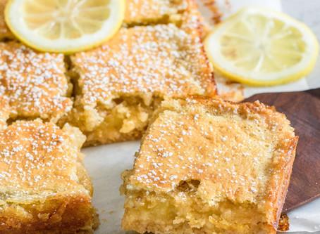 Triple Lemon, Lemon Bars: Your taste buds will thank you for it.