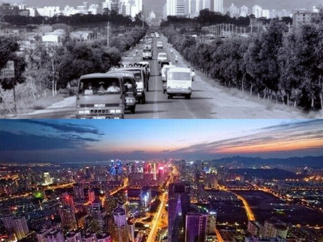 China's model for reform and opening up 40 years young....