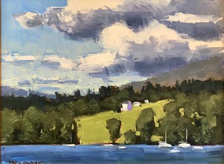 Episode 70-Mary Byrom, plein air painter Berwick, ME