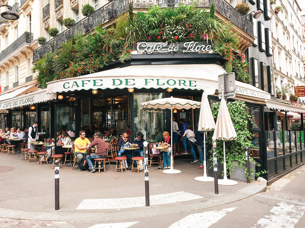 Café de Flore lA Guide to Paris l Travel Guide Paris l Week in Paris l A Style Alike