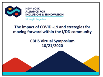 7-Panel Discussion-The Impact of COVID-19 and Strategies for Moving Forward within the IDD Community