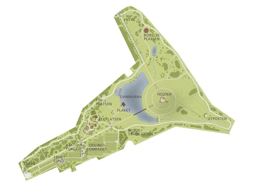 #kunskapsparken #brunnshög #parkgestaltning #skogsträdgård #funktionellpark #rekreationsområde