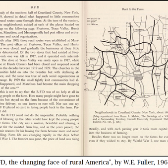 How mail delivery impacted rural America