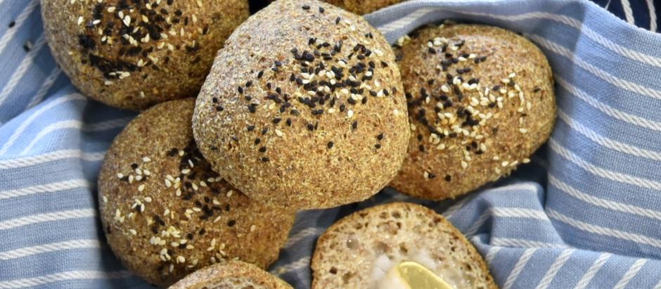 Keto Bread Rolls - Dairy free