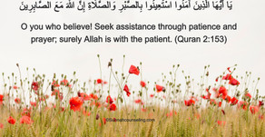 Ayah About Patience